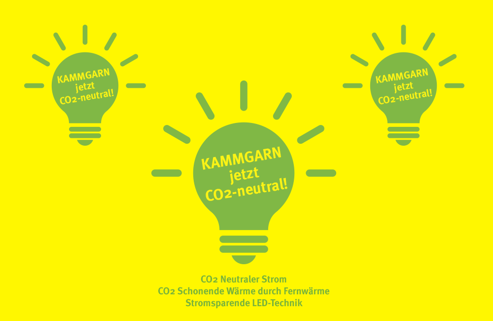 Kammgarn goes Green